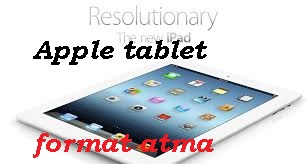 Apple Tablet Format Atma Reset  Sıf..